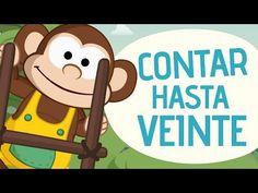 Top Five Numbers Songs for Kids in Spanish | SPANISH MAMA. Learn numbers 1-20 en español.