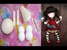 Muñeca de fomi (ENSAMBLAJE) y caracterización (cabello)