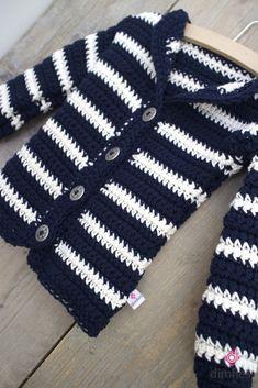 Baby vest haken - Dimfies
