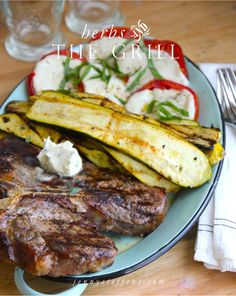 Jenny Steffens Hobick: Grilling with Herbs | Steaks & Herb Butter, Tomato...
