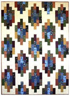 Quilt Pattern - GE Designs - Strip Stacks