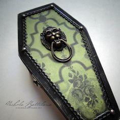 Miniature Vampire Hunting Kit in a Wee Coffin by PixieHillStudio