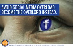 Oversee all aspects of your social media accounts in one interface