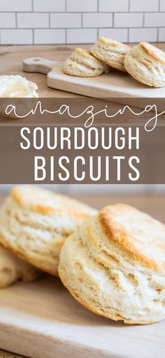 How to make the easiest flakey biscuits using sourdough discards! You can also use this recipe to easily make them without it as well! Very versatile! Flakey Biscuits, Sourdough Biscuits, Sourdough Recipes, Making Sourdough Bread, Sourdough Pizza, Easy French Bread Recipe, Easy Bread Recipes, Cod Recipes, Starter Recipes