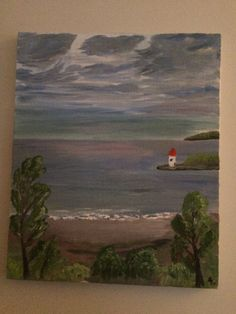 Motiv ut mot havet, Nice Frankrike  Malt av LOR