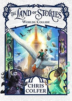 The Land of Stories: Worlds Collide by Chris Colfer, http://www.amazon.com/dp/0316355895/ref=cm_sw_r_pi_dp_x_H2jozbMZ30J85