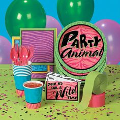 Party Animal Party Supplies - OrientalTrading.com