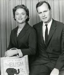 President George HW Bush and wife Barbara - 1964 Slideshow: Presidents in Amarillo Texas History, Us History, American History, Presidents Wives, American Presidents, Presidential History, Presidential Portraits, Bush Family, Historia Universal