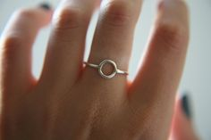 SPHERE RING · sterling silver ring · made to order · sterling · stacker · ring · handmade ring