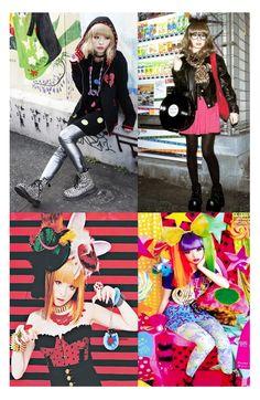 Aomoji-kei style