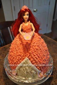 Cool Homemade Princess Jasmine Birthday Cake