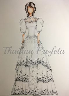 Vestido de noiva anos 80