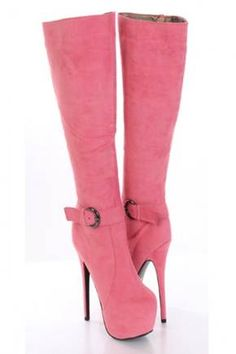 AMIClubwear premier ecommerce site for women's clubwear, party dresses, sexy shoes and bikinis at amazing prices. Thigh High Boots, High Heel Boots, Heeled Boots, Bootie Boots, High Heels, Pink Boots, Sexy Boots, Cool Boots, Crazy Shoes