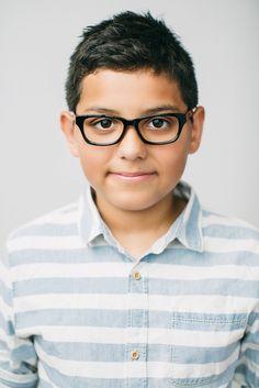 Boys Eyeglass Frames // Miles Frame // Black // www.jonaspauleyew...
