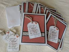 Handmade cards by Marilynn using the New Mercies stamp set from Verve. #vervestamps