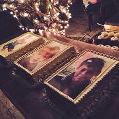 Harry's cakes at his bday party cx