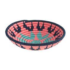 Indego Africa™ mint-burst plateau basket : home & gifts | J.Crew