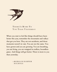 """There Is More To You Than Yesterday"" by Morgan Harper Nichols #morganharpernichols #christian #faith #christianencouragement #scripture #believe #christianinspiration #truth #christianfaith #praise #goodnews #christianblog #peace #faithblog #words #hope #thesovereignword #seek #christianposts #faithposts #uplifting #life #gospel"