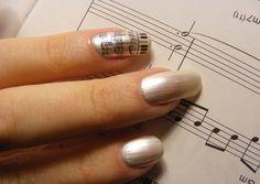 Piano nail art nail art pinterest piano nails prinsesfo Images