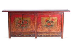 One Kings Lane - Eye to the East - Gansu Elm Cabinet Oriental Furniture, A Frame House, Painting Cabinets, Kings Lane, Eye, Dining, Antiques, Kitchen, Home Decor