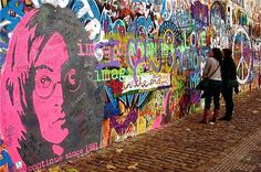 #Praga #JonhLennon