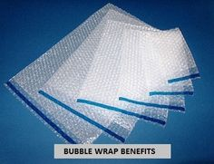 BUBBLE WRAP BENEFITS . Bubble wrap is one of today's most popular packing materials. It provides excellent protection for shipping or storing fragile, breakable goods. Today Pacdepot will tell you some Benefits of Bubble Wrap which helps you keep your packaging items safe. Read more about BUBBLE WRAP BENEFITS at http://pacdepot.com/blog/bubble-wrap-benefits.html