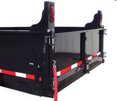 6 & 7 Ton Hydraulic Dump Trailer - Johnson Trailer Co. Dump Trailers, Flatbed Trailer, Johnson Trailer, Wire Board, Hydraulic Cylinder, Utility Trailer, Diy Kitchen Storage, Truck Bed, Truck Accessories