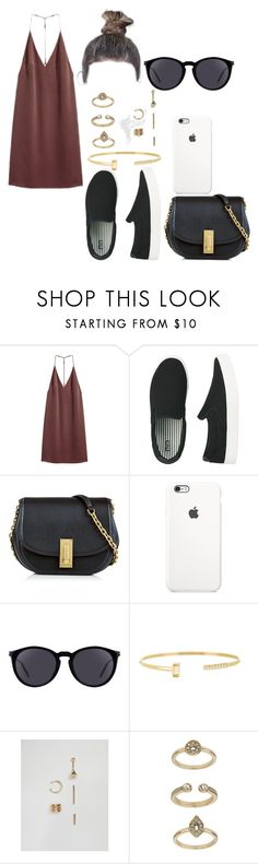 """""""Untitled #4204"""" by paula896 ❤ liked on Polyvore featuring H&M, Uniqlo, Marc Jacobs, Yves Saint Laurent, FOSSIL, ASOS and Topshop"""