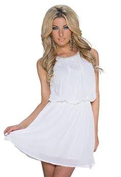 K1035 Fashion4Young Damen Ärmelloses Party-Kleid Chiffon verfügbar Elegant Abendkleid Chiffonkleid (L/XL 38/40, Weiß) Fashion4Young http://www.amazon.de/dp/B00TX0ZXHS/ref=cm_sw_r_pi_dp_IuCkvb1X7EFVF