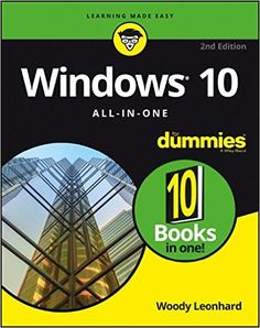 Amazon.com: Windows 10 All-In-One For Dummies (9781119310563): Woody Leonhard: Books