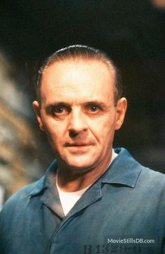 The Silence Of The Lambs publicity still of Anthony Hopkins
