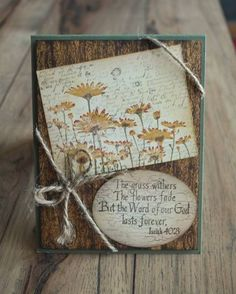 Wood and the Word by mamaxsix - Cards and Paper Crafts at Splitcoaststampers