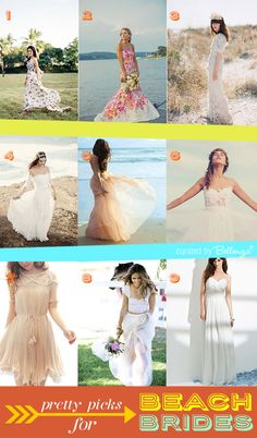 Stylish beach wedding dresses summer, #beachweddingdresses