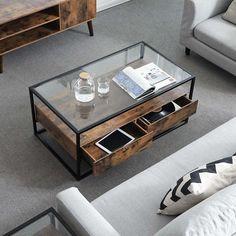 Glazen Moderne Salontafel.De 15 Beste Afbeelding Van Glazen Salontafels Glass Coffee Tables