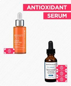 Save vs. Splurge: Antioxidant Serum - Paula's Choice Resist C15 Super Booster is a third of the price of CE Ferulic, and has virtually the same percentages of each antioxidant!