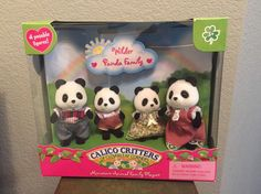 Wilder Panda Family - Dollhouse Toys by Calico Critters (CC1507) #Epoch
