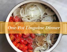 One-Pot Linguine: The Easiest Gourmet Pasta You'll Ever Make!