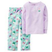 Carter's Girls 4-14 Stripe Pajama Set