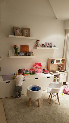 48 brillante Dekorationsideen für Spielzimmer 42 - Home Design Ideas - # Ikea Kids Playroom, Playroom Decor, Play Corner, Kids Corner, Room Ideias, Ideas Dormitorios, Kids Room Design, Ikea Kitchen, Living Room Lighting