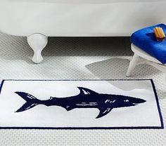 Shark Bath Mat #pbkids