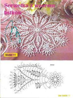 bearded wheat motif doily & chart Knitting PatternsKnitting For KidsCrochet PatternsCrochet Bag # Filet Crochet, Mandala Au Crochet, Art Au Crochet, Crochet Doily Patterns, Crochet Home, Thread Crochet, Irish Crochet, Crochet Designs, Cross Stitch Patterns
