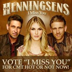 Every vote counts! The Henningsens are up for the CMT Hot 20 Countdown and you can help them grab a spot. - http://www.cmt.com/show/hot_20_countdown/series.jhtml