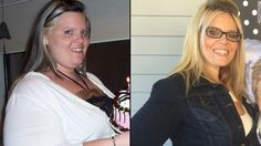 Joanna Pearson was 410 pounds at her heaviest. She lost weight through diet and exercise.