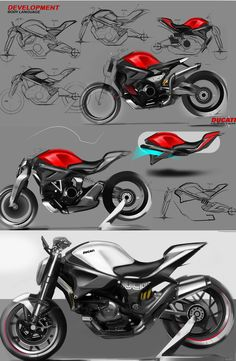 """Check out this @Behance project: """"Ducati Monster Nini"""" https://www.behance.net/gallery/31429109/Ducati-Monster-Nini"""