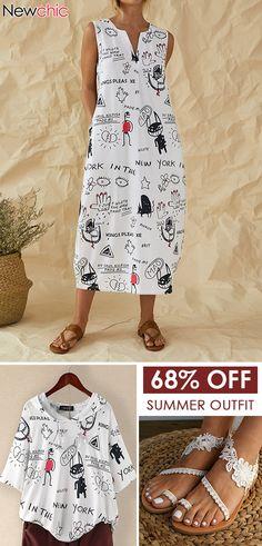 Summer Outfits Idea! #casual #womenfashion #cute Winter Fashion Outfits, Boho Fashion, Womens Fashion, Diy Clothes, Clothes For Women, Summer Outfits For Teens, African Fashion Dresses, Weekend Wear, Dressmaking