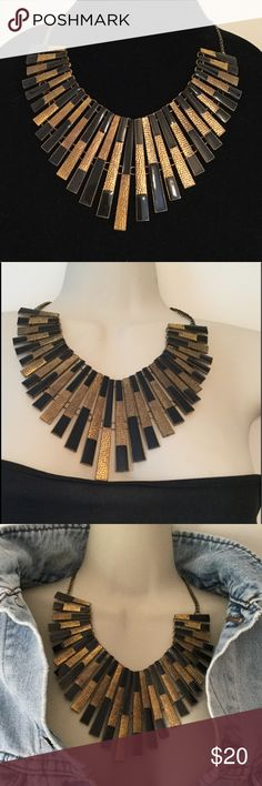 """Statement Necklace, Egyptian Necklace, Sophisticated Ladies Necklace, Causal or Party Perfect. 💖     Length: 20"""" Extender: 2""""                                  Closure: Lobster Claw. Please contact me with any Questions..         As Always... ~~Be Your Beautiful Self~~💋 Jewelry Necklaces"""