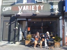 Variety Cafe ~ Williamsburg Brooklyn NY. Good coffee, nice place to chill.
