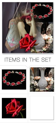 """""""Roses Are Red, My Love"""" by pattysporcelainetc ❤ liked on Polyvore featuring art, vintage and country"""