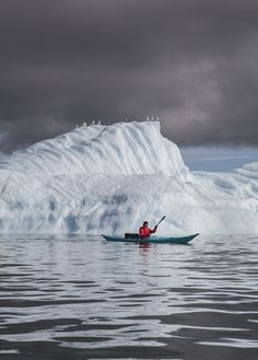 Two day sea kayaking trip in Disco Bay, West Greenland