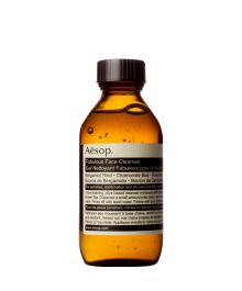 Aesop's Fabulous Face Cleanser  A mild, low-foaming gel cleanser for sensitive or normal skin. Not tested on animals.